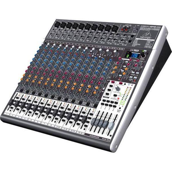 Behringer mesa mezclas xenyx x2442usb con efectos mesa for Mesa de mezclas fonestar